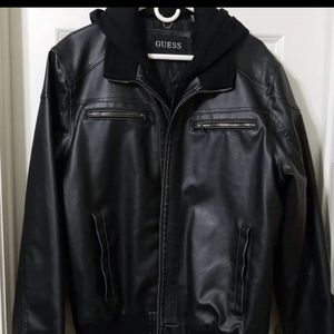Men's Wilson's genuine leather Guess jacket